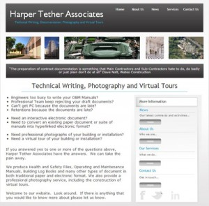 Harper Tether Associates website